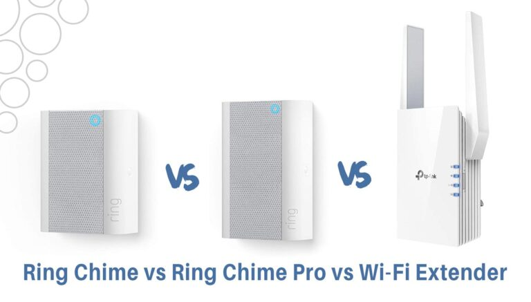 Ring Chime vs Ring Chime Pro vs Wifi Extender